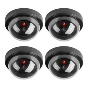 camera de surveillance factice dome cctv avec led toroton