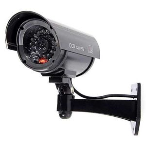 camera de surveillance factice imitation cctv security bg