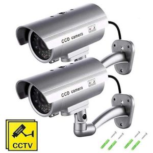 camera de surveillance factice led clignotante seekool